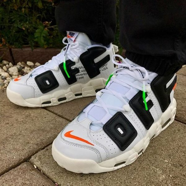 fausse off white nike air more uptempo blanche white (1)