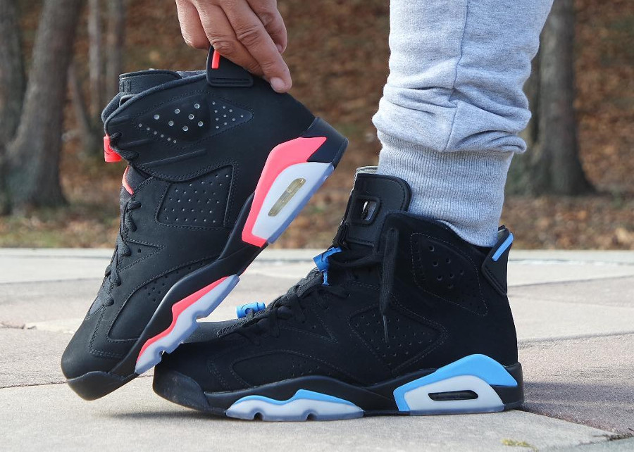 Air Jordan 6 Retro 'Black University Blue'
