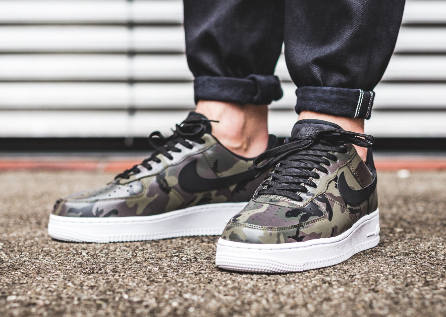 Nike Air Force 1 Low 07 LV8 Country Camo Medium Olive