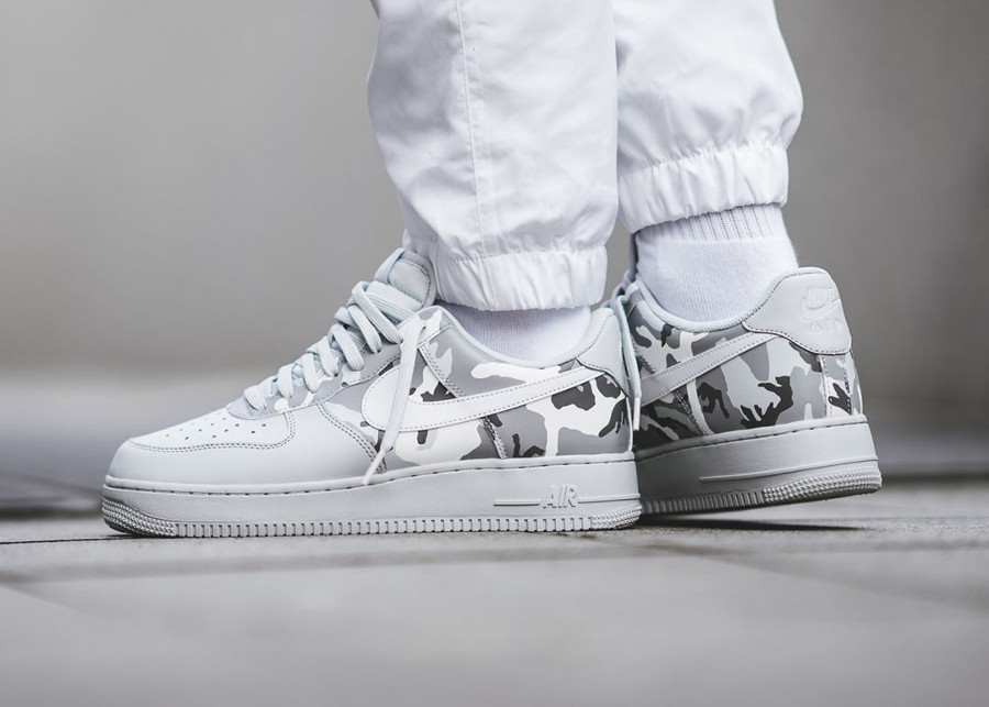 Nike Air Force 1 Low 07 LV8 Country Camo Pure Platinum