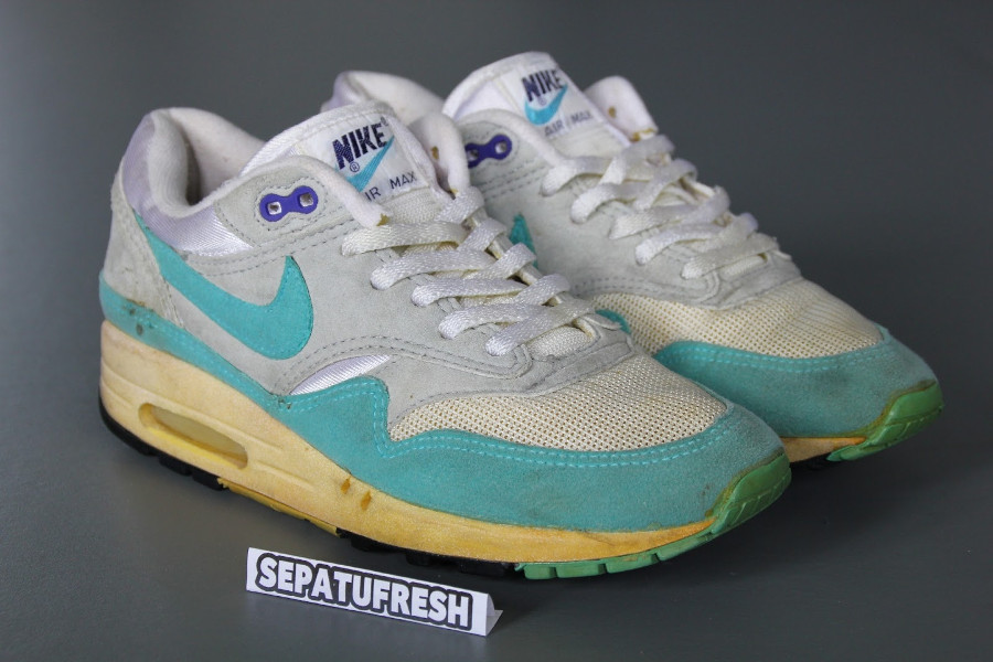 Nike Wmns Air Max 1 Aqua de 1987 (made in Korea)