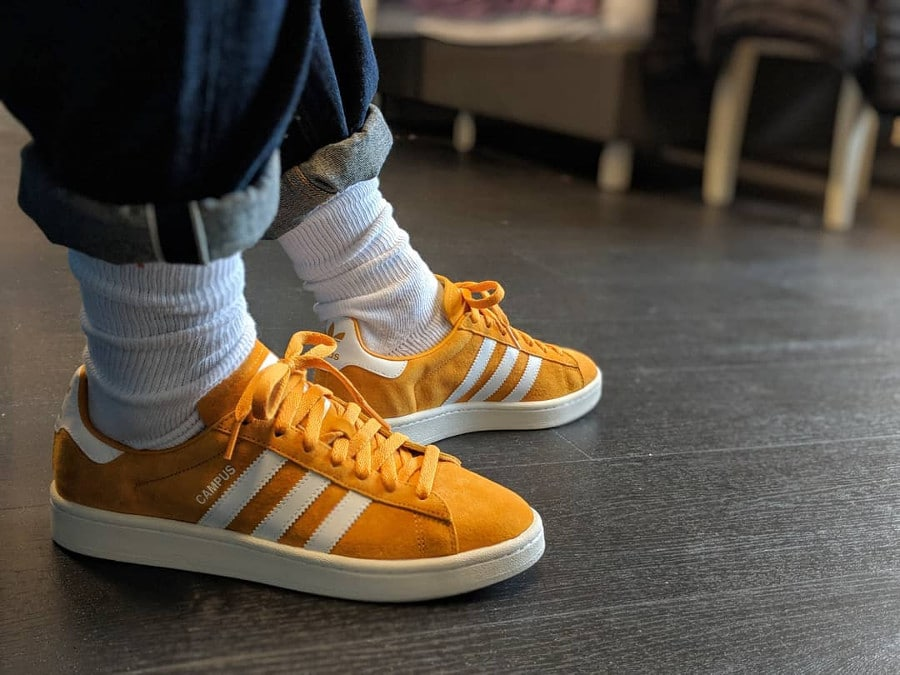 Adidas Campus Yellow - @kevin_wuu