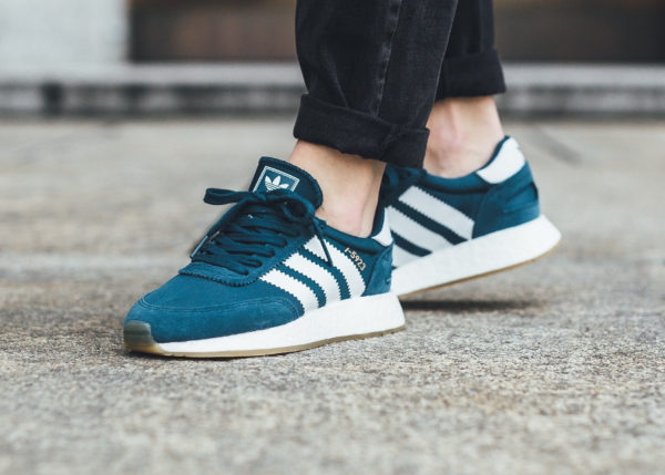 Adidas Iniki I-5923 Runner Boost W Petrol Night - chaussure rétro pour femme