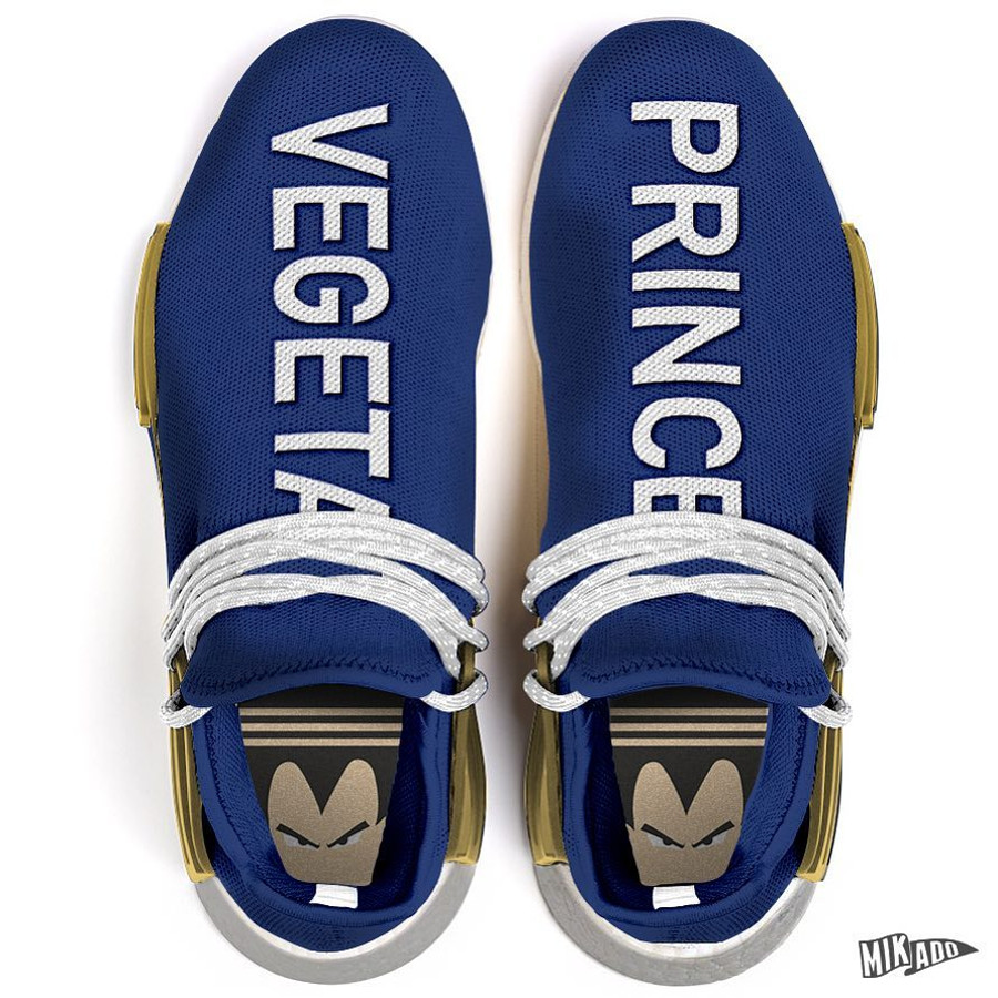 Adidas NMD HU Vegeta Saiyan Prince