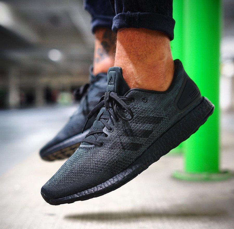 Adidas Pure Boost DPR Triple Black - @_wh1tie_
