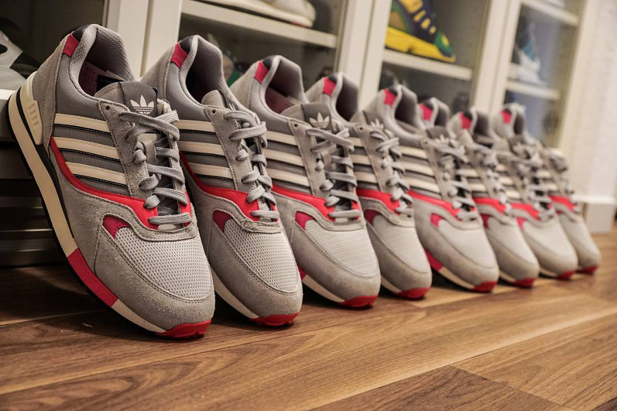 Adidas Quesence Grey Two Shock Pink - @azzido83