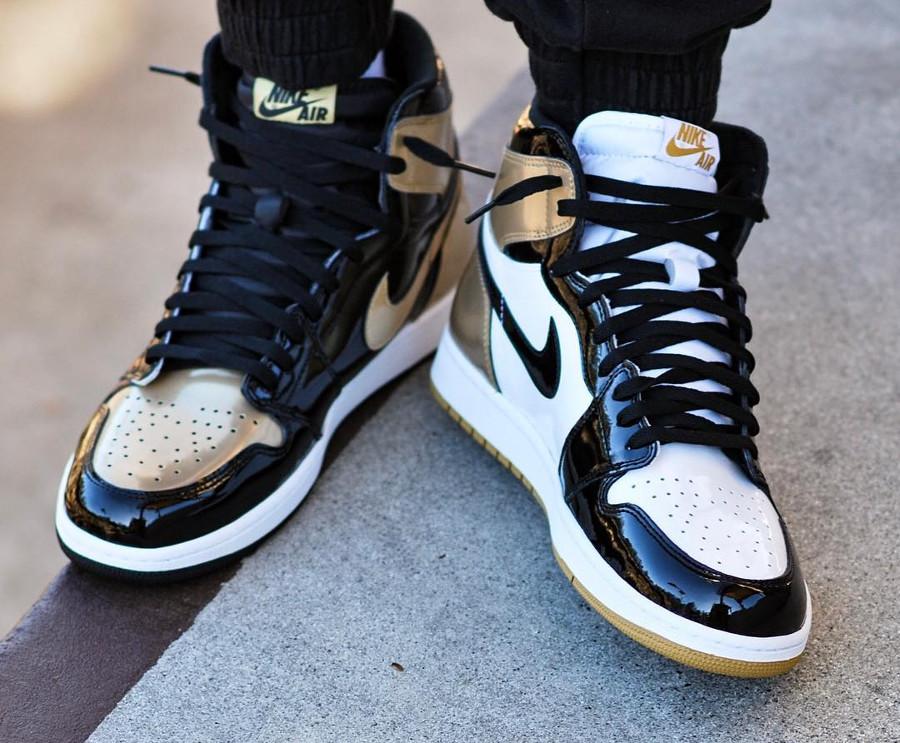 Air Jordan 1 High Retro Gold Top 3 - @mgj_12