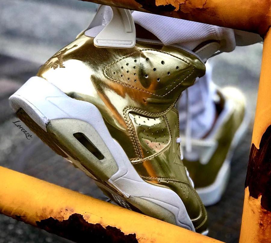 Air Jordan 6 Pinnacle Metallic Gold - @snkrz.lorenzo