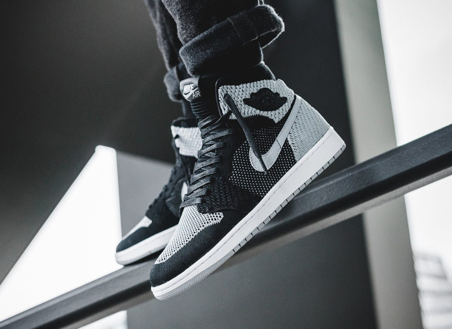 Air Jordan 1 Retro High Flyknit OG 'Shadow'