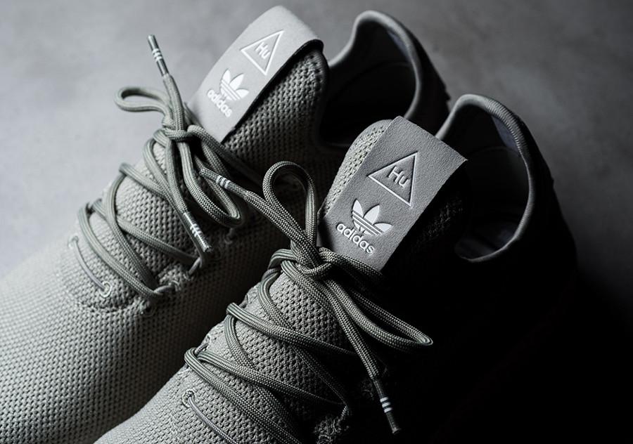 Basket Adidas Tennis Human Race Tech Beige CQ2163 (4)