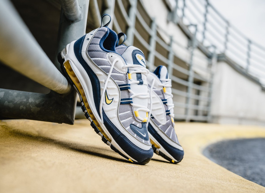 Basket Nike Air Max 98 OG Michigan Tour Yellow (1)
