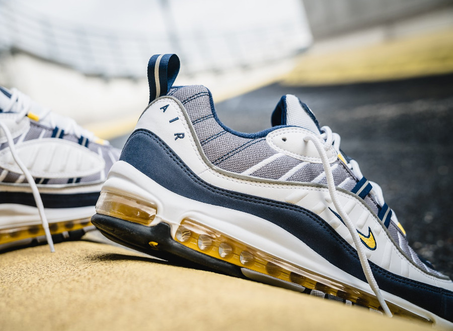Basket Nike Air Max 98 OG Michigan Tour Yellow (4)