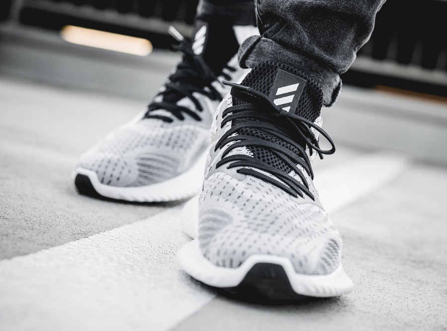 Adidas Alphabounce Beyond 'White Black'
