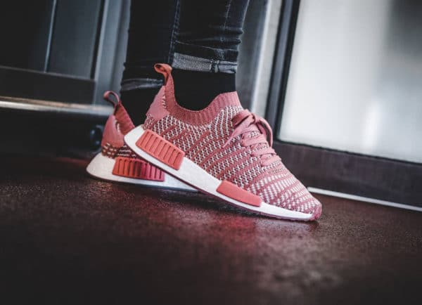 Chaussure Adidas NMD_R1 STLT PK Rose Ash Pink femme