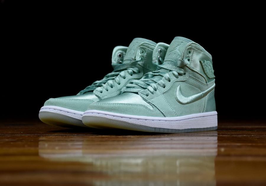 Chaussure Air Jordan 1 Retro SOH Mint Foam vert menthe