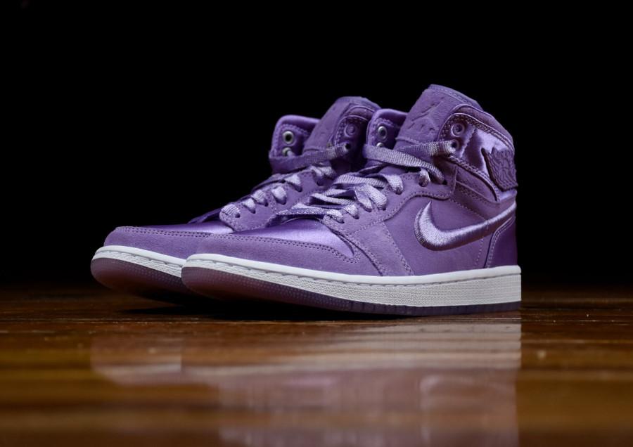Chaussure Air Jordan 1 Retro SOH violette Orchid Mist