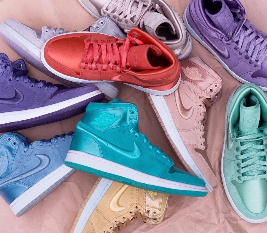 Chaussure Air Jordan 1 SOH Season of Her Pastel