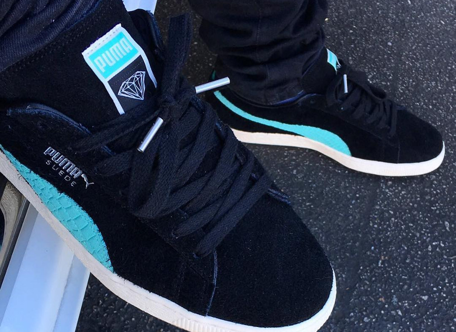 Diamond Supply Co. x Puma Suede 'Black Diamond'