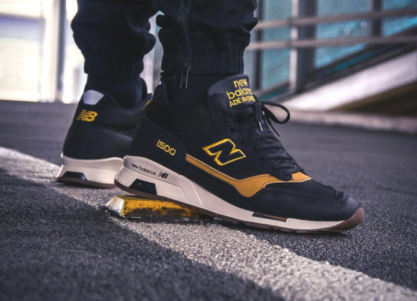 Chaussure New Balance MH1500KT Mid Black Yellow