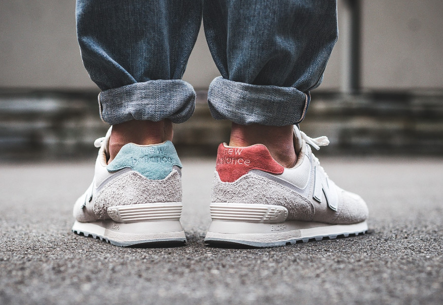 New Balance ML 574 Suede 'Sea Salt Moonbeam'