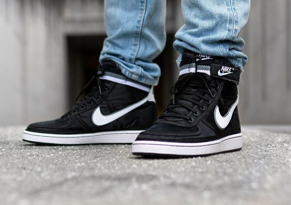 pretty nice cac90 f8718 nike vandal high black white