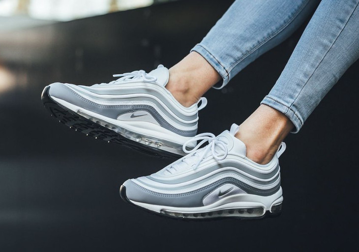 Chaussure Nike Wmns Air Max 97 UL '17 White Pure Platinum (2)