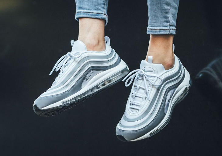Chaussure Nike Wmns Air Max 97 UL '17 White Pure Platinum (3)