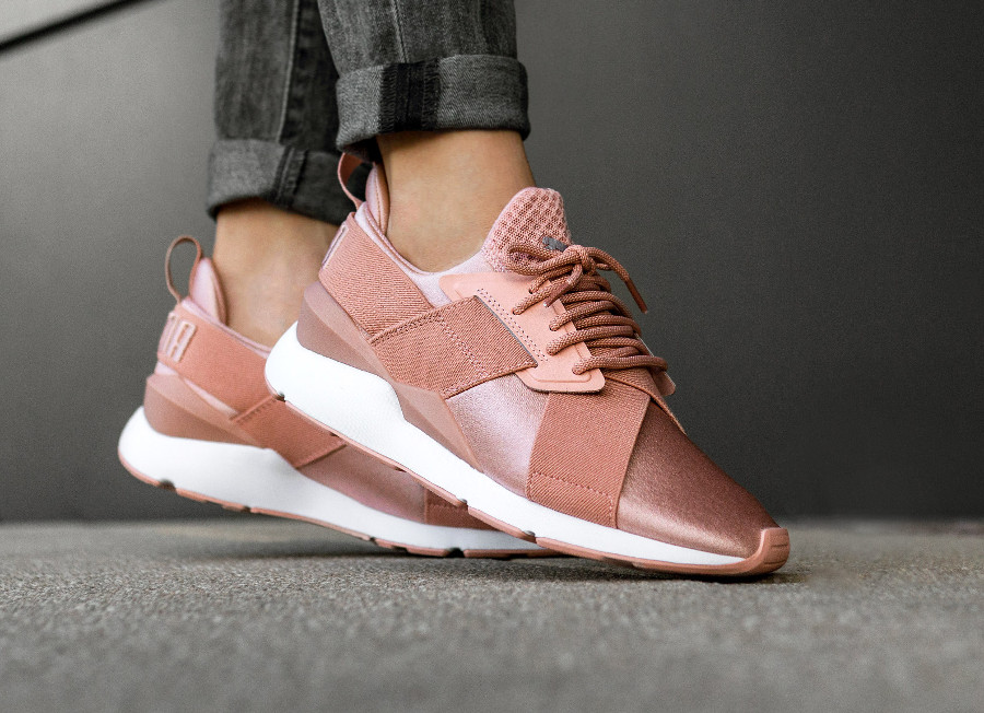 Beige Peach L'acheter X Rose Puma Strap Chaussure Muse Comment S4pA7gKZT