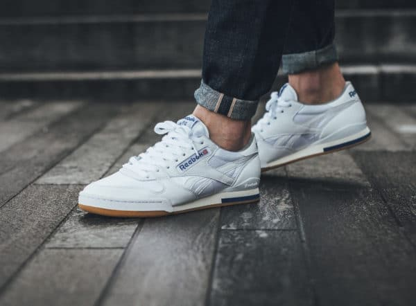 Chaussure Reebok Phase 1 Pro blanche 2018