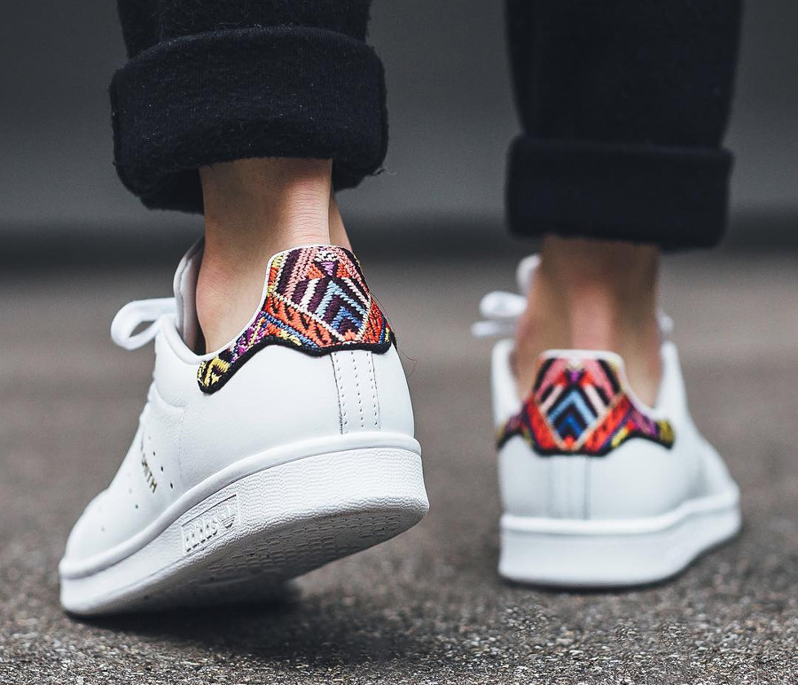 Chaussure The Farm Company x Adidas Stan Smith W blanche Passinho