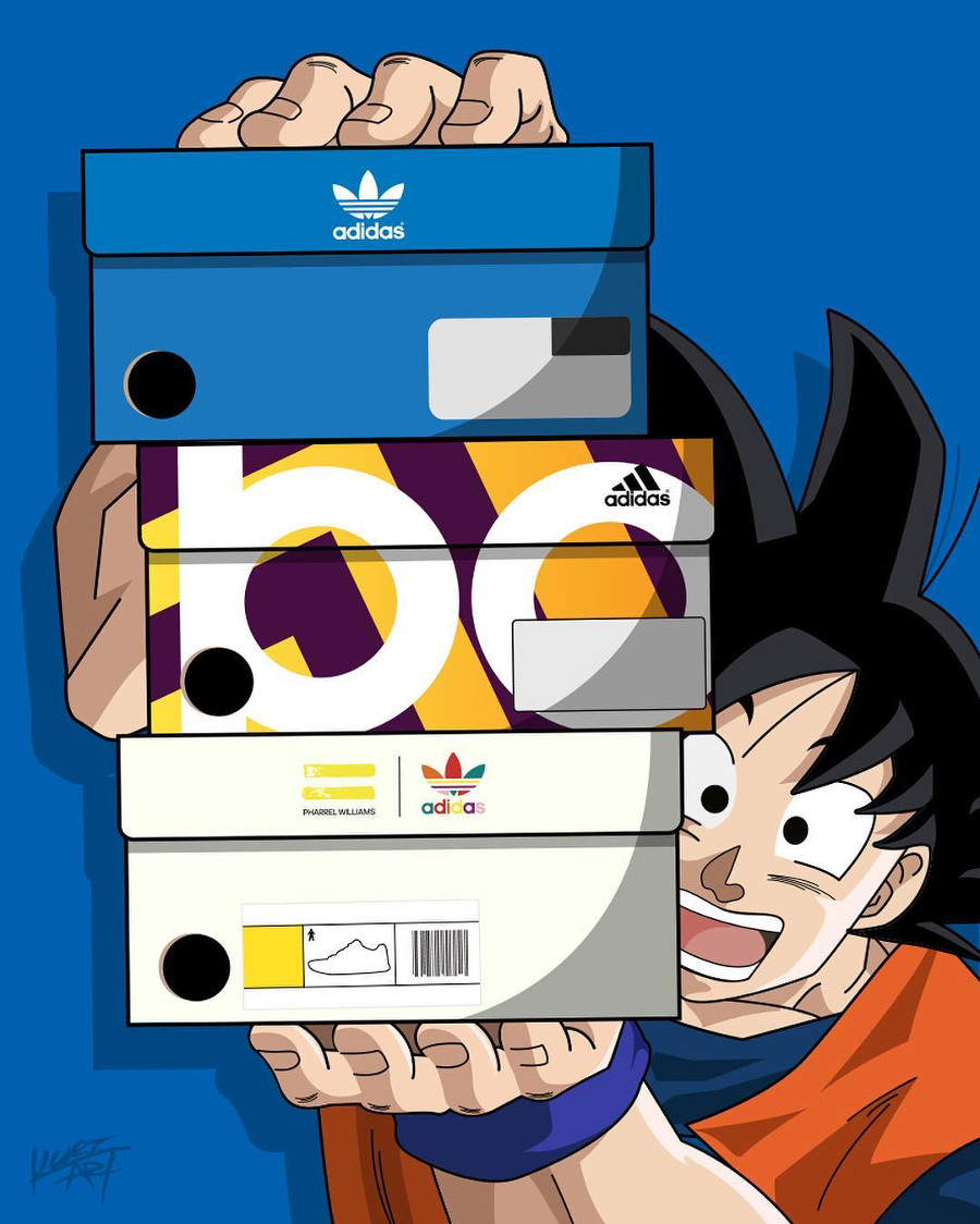 [L'édito] La collection Adidas Originals x Dragon Ball Z l'espoir en cristal