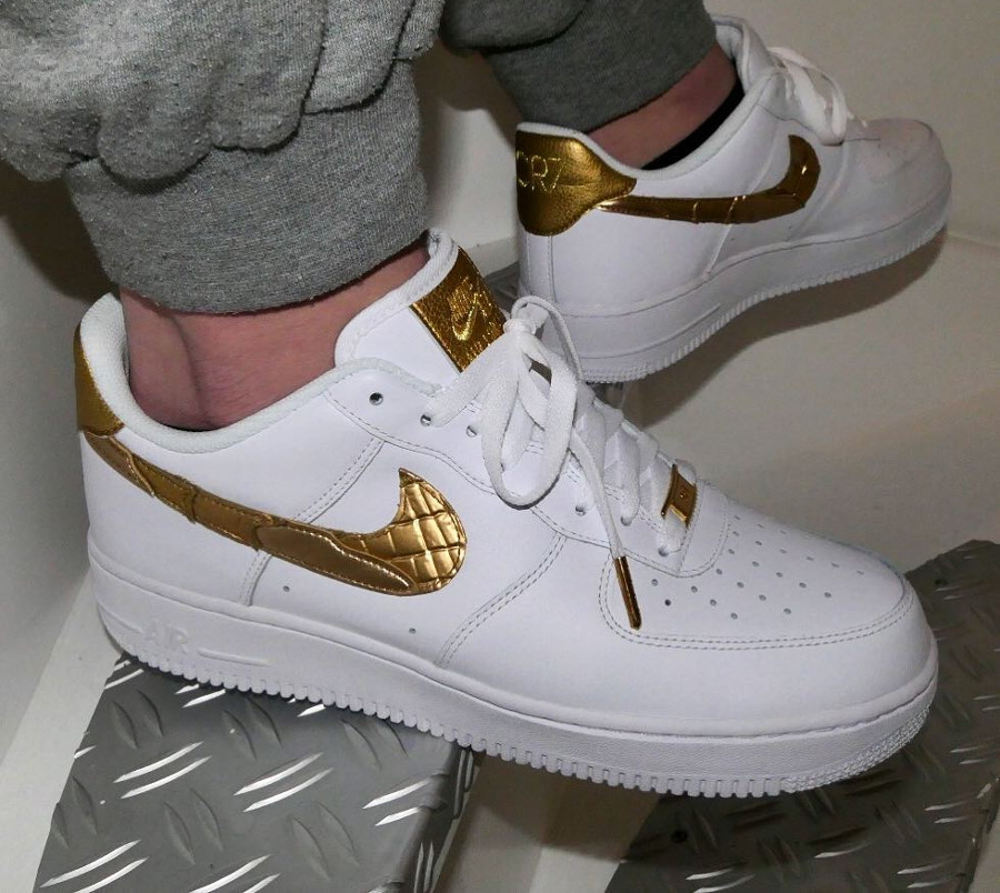 Nike Air Force 1 Low CR7 Golden Patchwork - @burger1984am1