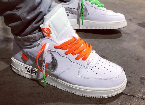 Nike Air Force 1 Low Complexcon 'Off White' (#SDJ 26/01/2018)