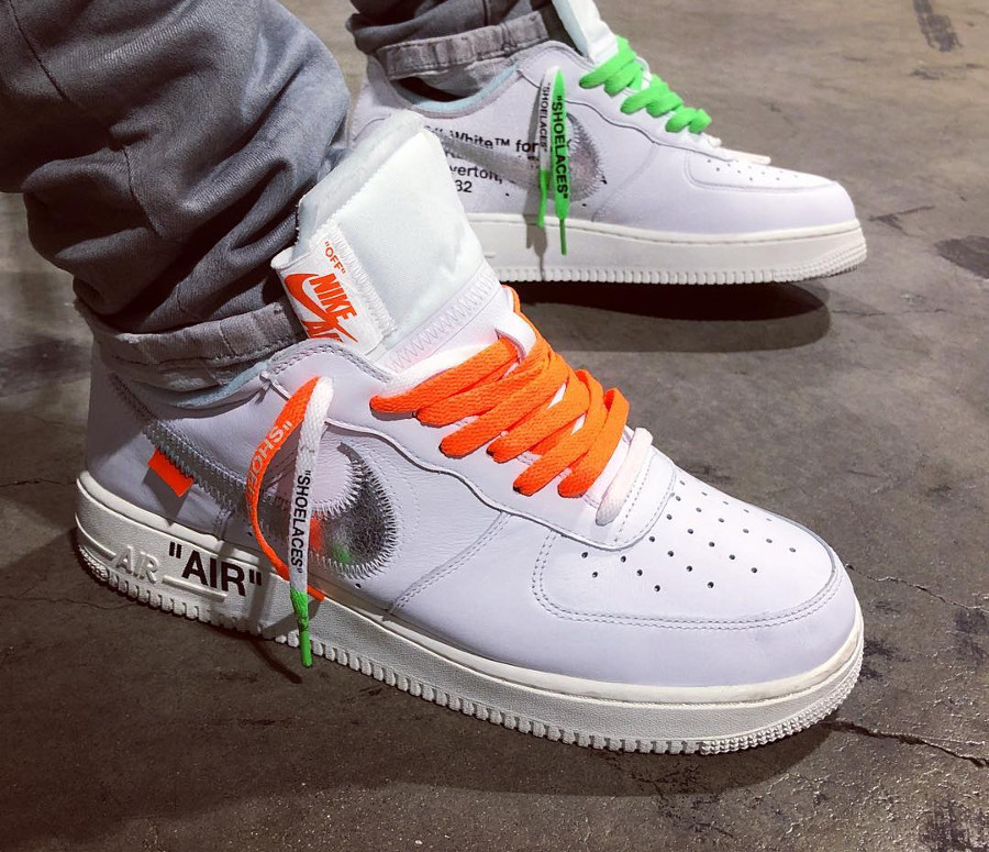 Nike Air Force 1 Low Complexcon Off White - @afrokix