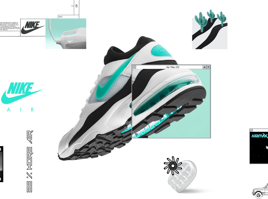 Nike Air Max 93 Dusty cactus 2018