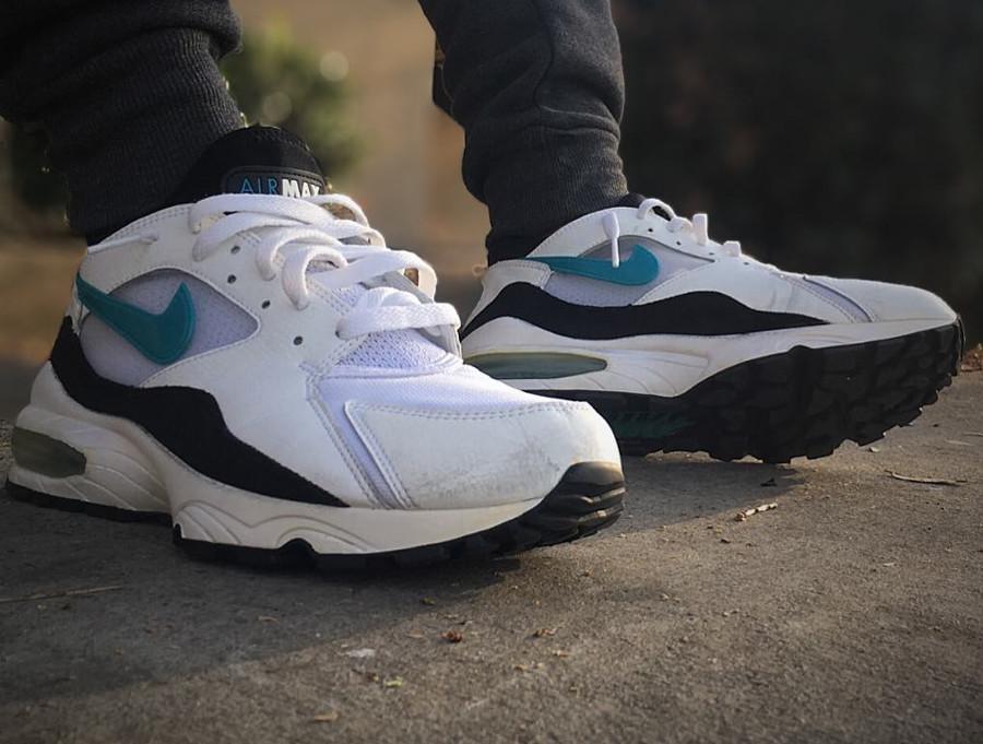 Nike Air Max 93 OG Menthol - @maydjahlook