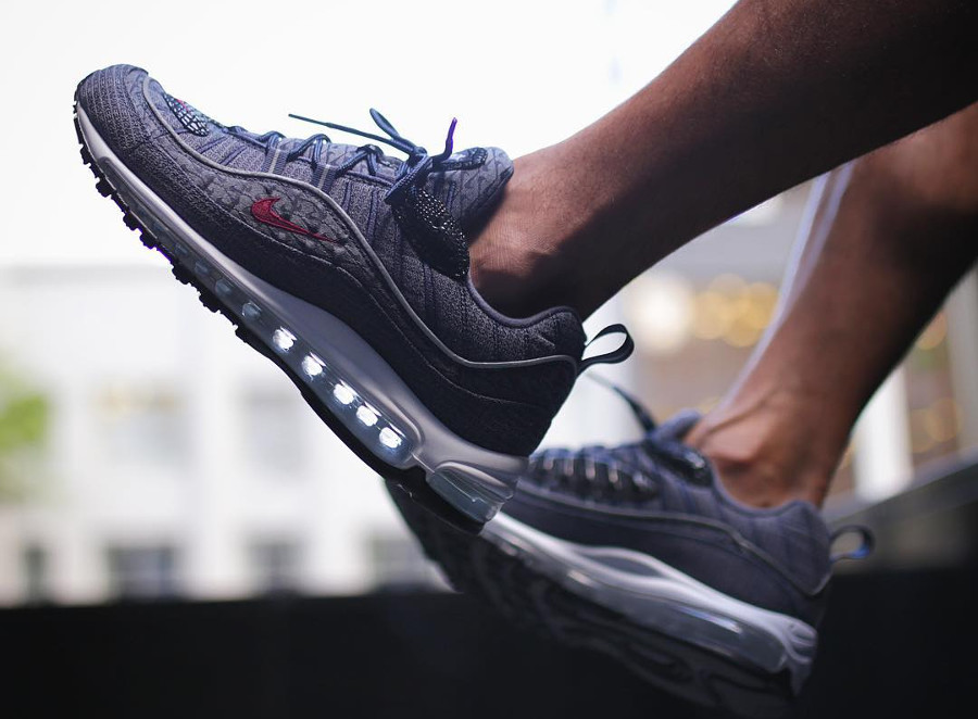 Nike Air Max 98 Thunder Blue (quickstrike)