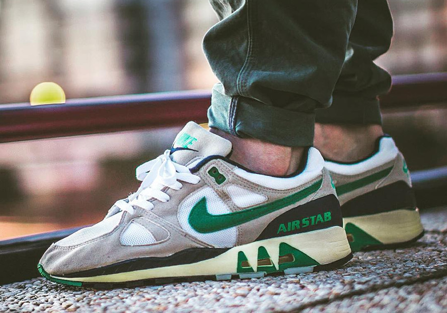 Nike Air Stab OG Emerald Green 1989 - @sneakyjeffn