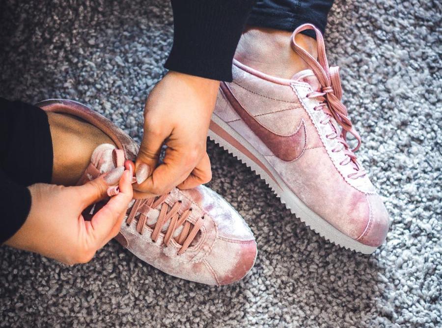 Nike Cortez Pink Velvet - @meatballkati