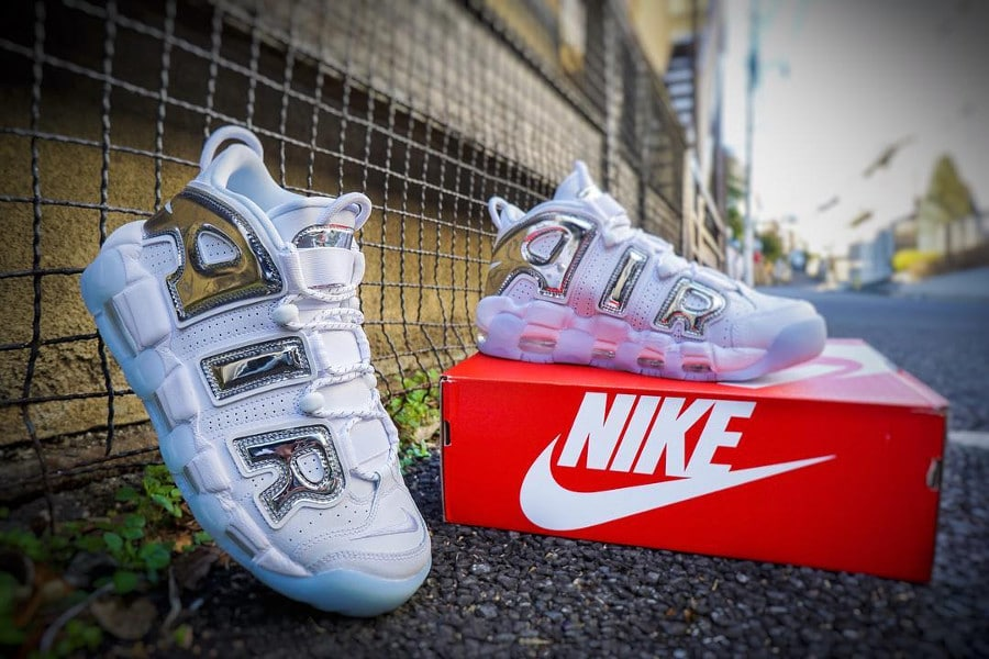 Nike Wmns Air More Uptempo Chrome - @nakamaru_ady