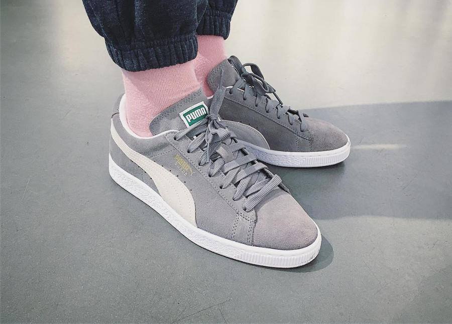 Puma Suede Grey - @sneakerqueen