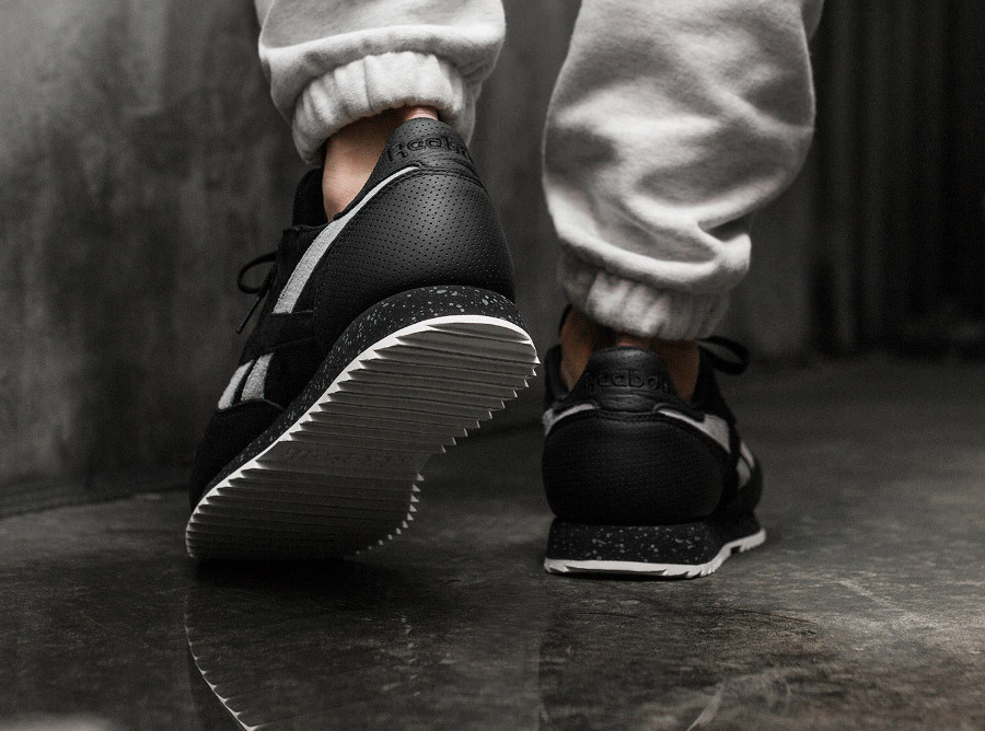 Reebok Classic Leather Ripple SM Black (2)