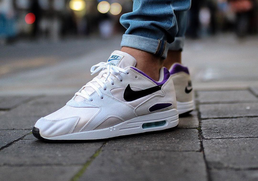 Sole Swap Nike Pantheon 93 x Air Max 1 White Purple