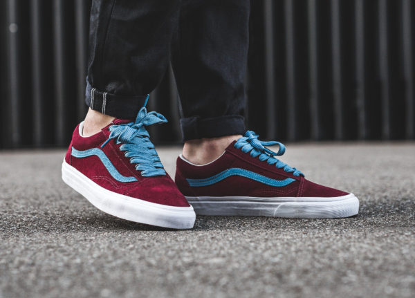 Vans Old Skool 'Cabernet Adriatic Blue'