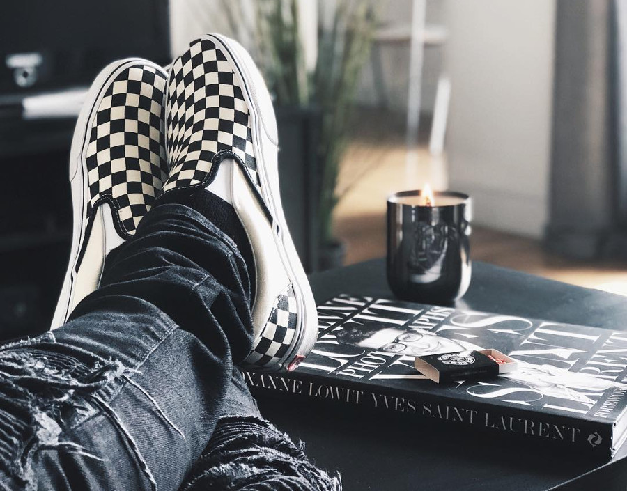 Vans Slip On Checkerboard (#SDJ 17/01/2018)