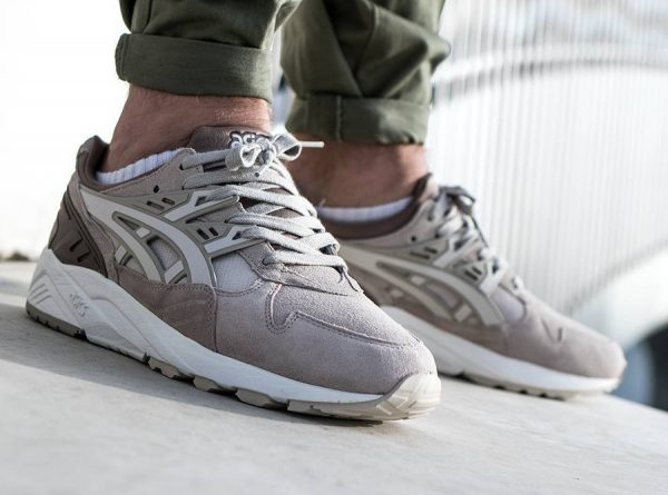 Trainer Asics Beige Grey'Quel Avoir 'feather Avis Kayano Suede Gel IWD29EH