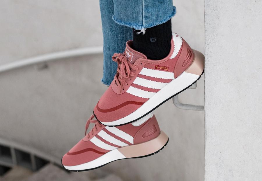 basket-Adidas-N-5923-mesh-CLS-W-Ash-Pink-AQ0267 (3)