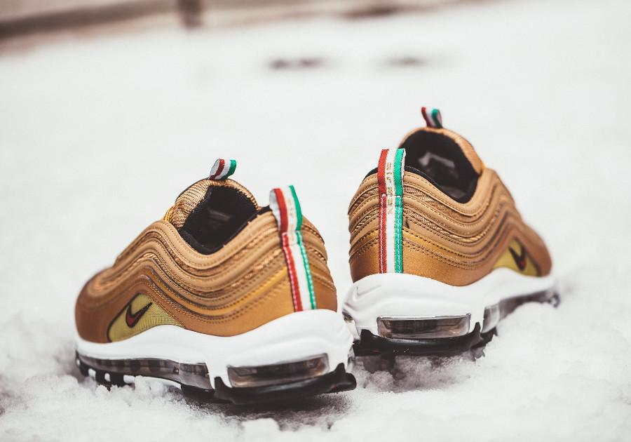 Nike Air Max 97 Metallic Gold 'Italy'
