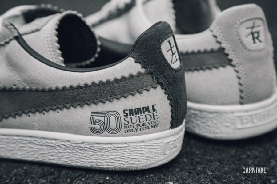 Michael Lau x Puma Suede 50 'Steel Gray'