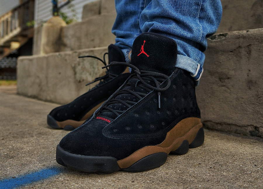 Air Jordan 13 Retro 'Black Olive'